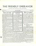 Friendly Endeavor, December 1937 by George Fox University Archives