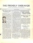 Friendly Endeavor, January 1938 by George Fox University Archives