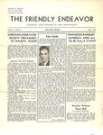 Friendly Endeavor, March 1938