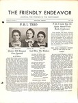 Friendly Endeavor, May 1938
