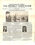 Friendly Endeavor, July 1938 by George Fox University Archives