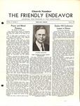 Friendly Endeavor, August 1938