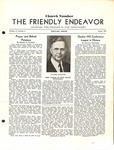 Friendly Endeavor, August 1938