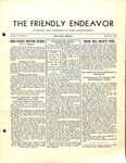 Friendly Endeavor, September 1938 by George Fox University Archives