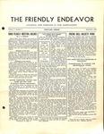 Friendly Endeavor, September 1938