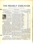 Friendly Endeavor, December 1938