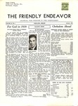 Friendly Endeavor, January 1939 by George Fox University Archives