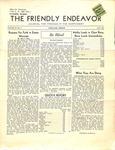 Friendly Endeavor, April 1939