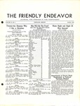 Friendly Endeavor, October 1938 by George Fox University Archives