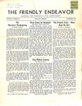 Friendly Endeavor, November 1939