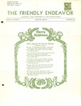 Friendly Endeavor, December 1939