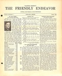 Friendly Endeavor, March 1940