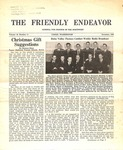 Friendly Endeavor, December 1940 by George Fox University Archives