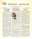 Friendly Endeavor, February 1941 by George Fox University Archives