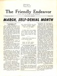 Friendly Endeavor, March 1942 by George Fox University Archives