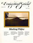 Evangelical Friend, October 1971 (Vol. 5, No. 2)