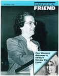 Evangelical Friend, November 1986 (Vol. 20, No. 3)