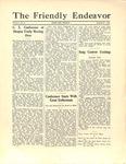 Friendly Endeavor, September 1928