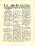 Friendly Endeavor, October 1928