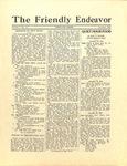 Friendly Endeavor, November 1928