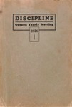 Discipline, Oregon Yearly Meeting 1934 by George Fox University Archives