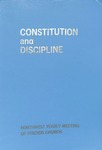 Constitution and Discipline, Northwest Yearly Meeting of Friends Church 1975