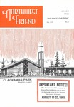 Northwest Friend, March 1965 by George Fox University Archives