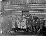 Woodland School 1908 by George Fox University Archives