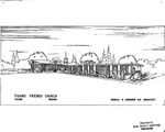 Tigard Friends, Architectural Drawing by Don Lindgren