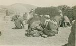 Bolivians praying