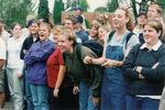 Bruin Brawl Crowd -- October 1998 by George Fox University Archives