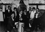 Various Students with Original Bruin Pelt