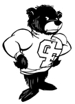 George Fox University Bruin Mascot by George Fox University Archives