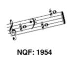 Newberg Quartet Festival 1954