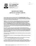 The Rwanda Crisis: Advocacy Alert #2