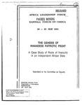 The Genesis of the Rwandese Patriotic Front