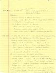 David Rawson Notes from 7/31/1995 to 8/2/1995