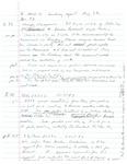David Rawson Notes: May 1992 to August 1992