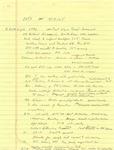 David Rawson Notes: February to March 1994