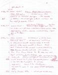 David Rawson Notes: August to September 1994