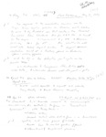 David Rawson Notes: April and May 1994