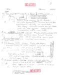 David Rawson Notes: Weapons Distribution