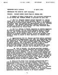 OATSD-PA Memorandum on Beginning of Rwandan Genocide