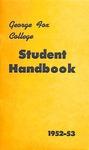 Student Handbook, 1952-1953