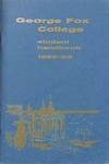 Student Handbook, 1965-1966