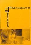 Student Handbook, 1967-1968