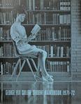 Student Handbook, 1971-1972