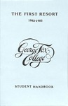 Student Handbook, 1982-1983 by George Fox University Archives