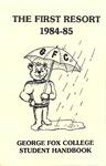 Student Handbook, 1984-1985