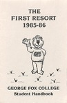 Student Handbook, 1985-1986 by George Fox University Archives